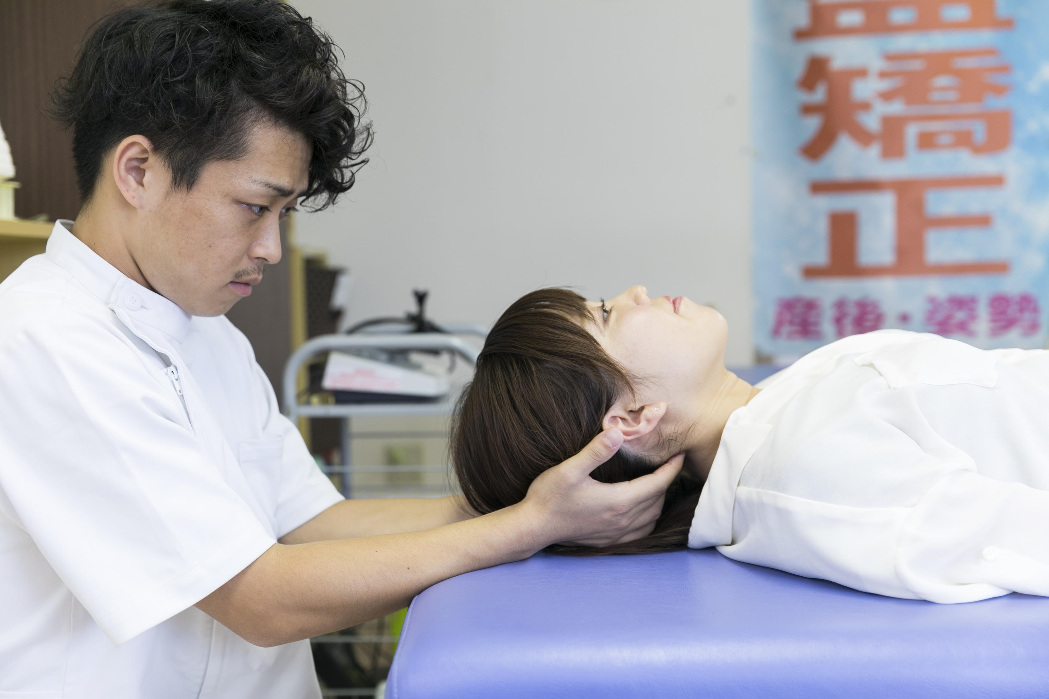 【首の痛み】気づかずにためている首の痛みに要注意! 名古屋市東区 天仁接骨院